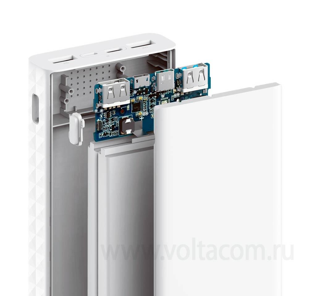 внешний аккумулятор ZMI Power Bank QB821 20000 mAh white
