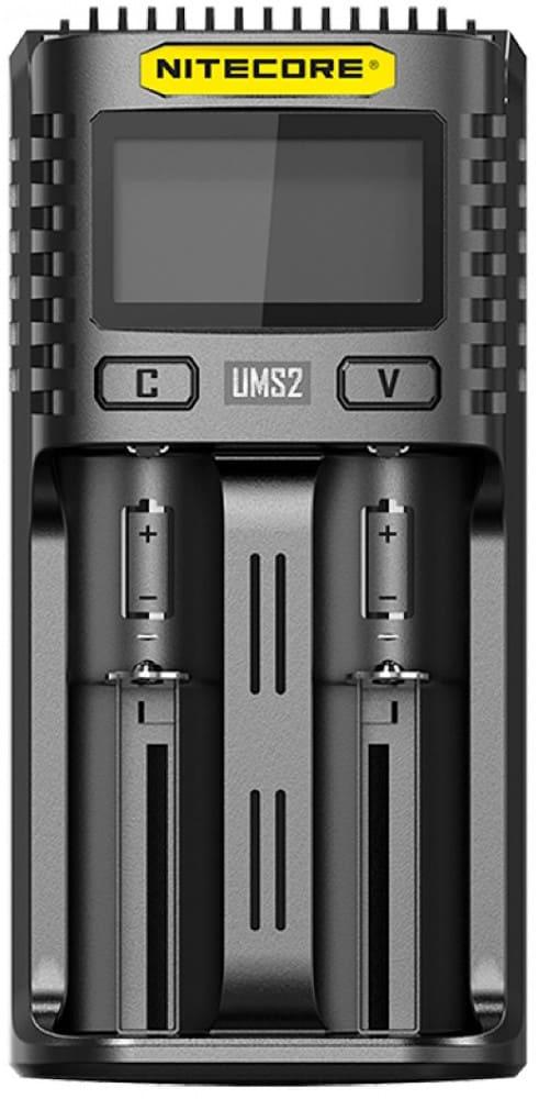 универсальное зарядное устройство NiteCore UMS2