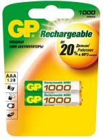 аккумулятор GP 1000 mAh R03/AAA-2BL