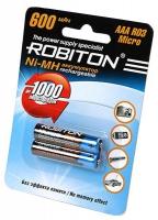 аккумулятор Robiton 600 mAh R03/AAA-2BL