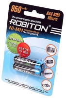 аккумулятор Robiton 950 mAh R03/AAA RTU-2BL
