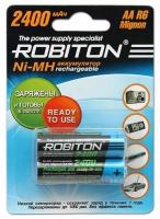 аккумулятор Robiton 2400 mAh R6/AA RTU-2BL