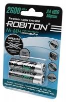 аккумулятор Robiton 2600 mAh R6/AA RTU-2BL