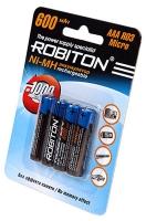 аккумулятор Robiton 600 mAh R03/AAA-4BL
