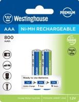 аккумулятор (2 шт) Westinghouse 800 mAh R03/AAA-BP2
