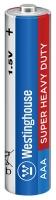 солевая батарейка Westinghouse R03/AAA Super Heavy Duty-BP4