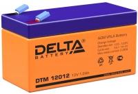 свинцово кислотный аккумулятор Delta DTM 12012