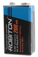 аккумулятор Robiton 200 mAh 6F22/Крона-SR1