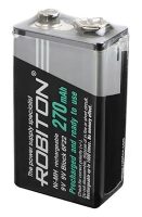 аккумулятор Robiton RTU270MH 6F22/Крона-bulk