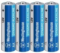 батарейки (4 шт.) Westinghouse LR6/AA Dynamo Alkaline-SP4